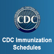 CDC Immunization Schedules